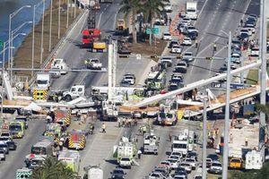 Sập cầu ở Florida, ít nhất 4 người thiệt mạng