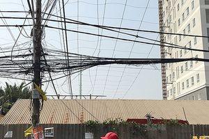 Chuẩn bị điện cho mùa khô: Gỡ vướng đường dây Nam Sài Gòn - quận 8