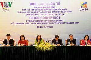 Họp báo quốc tế về Hội nghị Thượng đỉnh GMS6 và Hội nghị Cấp cao CLV10