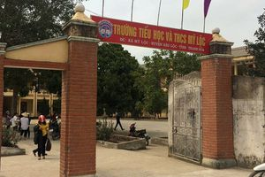 Điều tra vụ học sinh lớp 1 tử vong bất thường sau khi đi vệ sinh ở trường