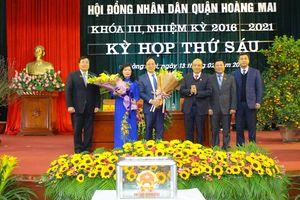 Vụ giám đốc sai phạm lát đá vỉa hè vẫn được bầu PCT quận: Chủ tịch quận Hoàng Mai nói gì?