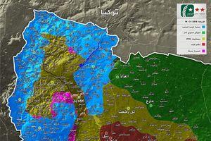 Người Kurd Syria bị quân Thổ bao vây hoàn toàn tại Afrin