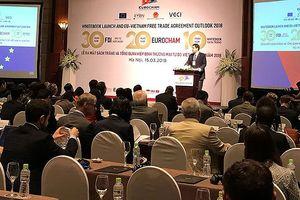 EuroCham: Việt Nam đang thặng dư thương mại với EU khoảng 31,8 tỷ USD