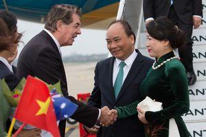 Thủ tướng tới Sydney dự hội nghị đặc biệt Australia - ASEAN