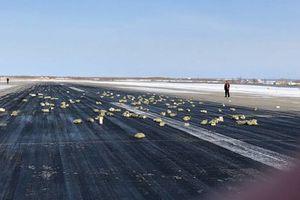 Hiện trường hơn 3 tấn vàng bị rơi khỏi máy bay Nga