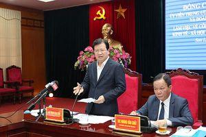 Công tác di dân, tái định cư dự án thủy điện Sơn La còn hạn chế