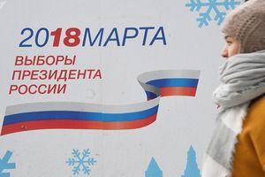 'Ngày im lặng' trước bầu cử Tổng thống Nga