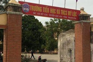 Thanh Hóa: Một học sinh lớp 1 tử vong