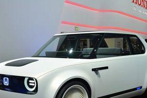 Honda Urban EV Concept - 'Dát' công nghệ tương lai trong chiếc áo hoài cổ