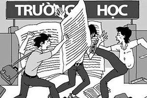 Lại nóng chuyện bạo lực học đường