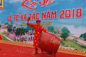 Phục dựng lễ tế đàn Xã Tắc ở Móng Cái