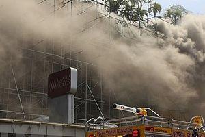 Cháy sòng bạc trong khách sạn ở Manila, nhiều người thương vong