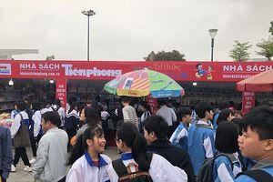 Ngày sách Việt Nam tại Bắc Ninh hút khách
