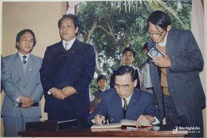 Dấu ấn của nguyên Thủ tướng Phan Văn Khải với quê hương Nghệ An