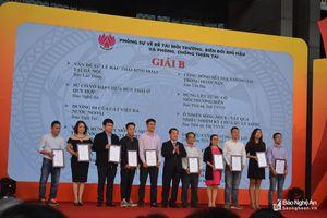 Báo Nghệ An đoạt 2 Giải B tại Hội Báo toàn quốc 2018