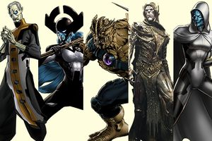 Tìm hiểu về Black Order - Những kẻ tay sai hiếu chiến và khát máu của Thanos