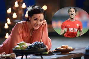 Ngắm nhan sắc mỹ nhân Trung Quốc khiến cựu sao Chelsea 'mê như điếu đổ'