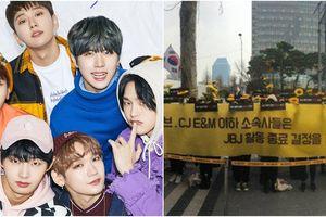 Cho rằng YG phá đám, người hâm mộ biểu tình im lặng để phản đối sự tan rã của JBJ