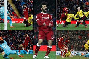 Salah tỏa sáng giúp Liverpool đại thắng Watford