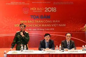Tọa đàm 'Nhà báo Trần Công Mân với báo chí cách mạng Việt Nam'