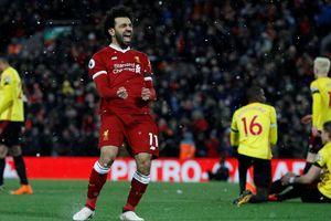 Salah 'nổ' 4 bàn cực đỉnh, Liverpool đè bẹp Watford