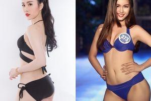 Dàn thí sinh có hình thể búp bê tại Hoa hậu Biển Việt Nam toàn cầu 2018