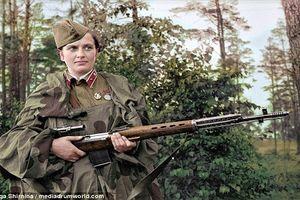 Khám phá nữ xạ thủ bắn tỉa huyền thoại của Liên Xô