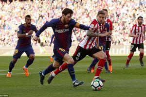 Messi xé lưới Bilbao, Barca bỏ xa Real Madrid 18 điểm!