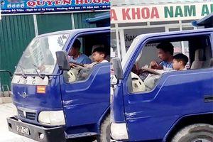 Thanh Hóa: Kinh hãi cảnh bé trai 10 tuổi lái xe tải gây sốc cộng đồng mạng