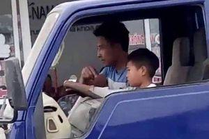 Cháu bé 10 tuổi lái xe tải ở Thanh Hóa: Phạt chủ phương tiện 8 triệu đồng