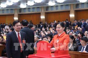 Quốc hội Trung Quốc thông qua việc bổ nhiệm một loạt lãnh đạo bộ, ngành