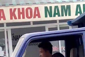 Xử phạt chủ xe để bé trai lái xe tải tại Thanh Hóa