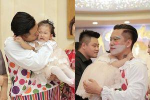 Cởi bỏ hình ảnh lịch lãm, Tuấn Hưng biến thành chú hề trong tiệc sinh nhật con gái