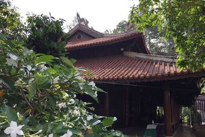 Đình Tân Thông - nơi ông Sáu Khải truyền giữ hồn sắc quê nhà