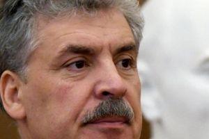 Ứng cử viên Tổng thống Nga mất râu vì không đạt đủ phiếu bầu