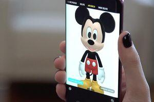 Galaxy S9 và S9+ thêm AREmoji nhân vật hoạt hình Disney