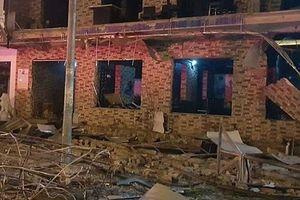 Nghệ An: Hiện trường tan hoang sau vụ nổ tại nhà hàng đồ nướng