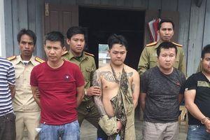 Bắt 5 đối tượng thủ súng K59 buôn bán ma túy xuyên quốc gia