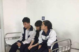 Sập mảng trần tại trường học: 3 học sinh bị thương đã xuất viện