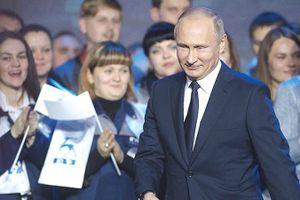 Ông Putin xác lập vị thế không bị thách thức