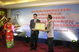 NSƯT Thế Hiển được UBND tỉnh Quảng Ninh tôn vinh và tặng bằng khen