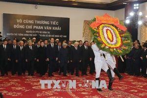 Lễ viếng cố Thủ tướng Phan Văn Khải