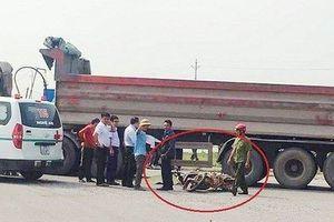 Nghệ An: Thai phụ và con trai 3 tuổi chết thương tâm dưới gầm xe tải