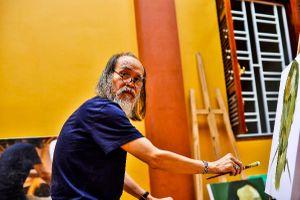 Họa sỹ Phạm Kiên: Tâm và tình người nghệ sỹ