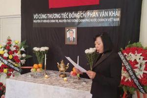 Tổ chức lễ viếng nguyên Thủ tướng Phan Văn Khải tại Mông Cổ
