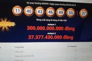 Hai tỉ phú Vietlott mới nhất đã hụt jackpot 300 tỉ như thế nào?