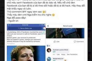 Sự thật về bình luận 'BFF' để kiểm tra tính bảo mật tài khoản Facebook