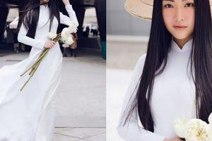 Tuần lễ Seoul náo loạn vì một bóng áo dài trắng