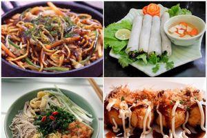 Giới thiệu món ngon Hà Nội và Nhật Bản vào cuối tuần
