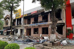 Vụ nổ nhà hàng lẩu nướng ở Nghệ An: Chưa phát hiện dấu hiệu hình sự